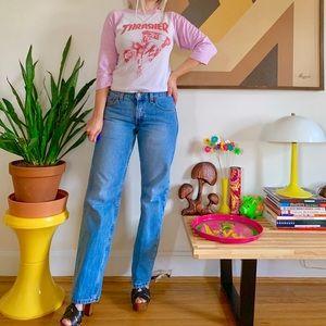Vintage 90s Levi's Jeans low rise hip huggers S